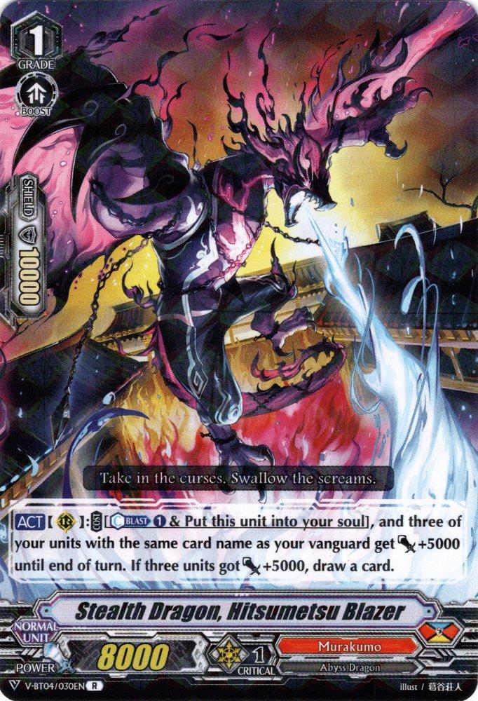 Stealth Dragon, Hitsumetsu Blazer