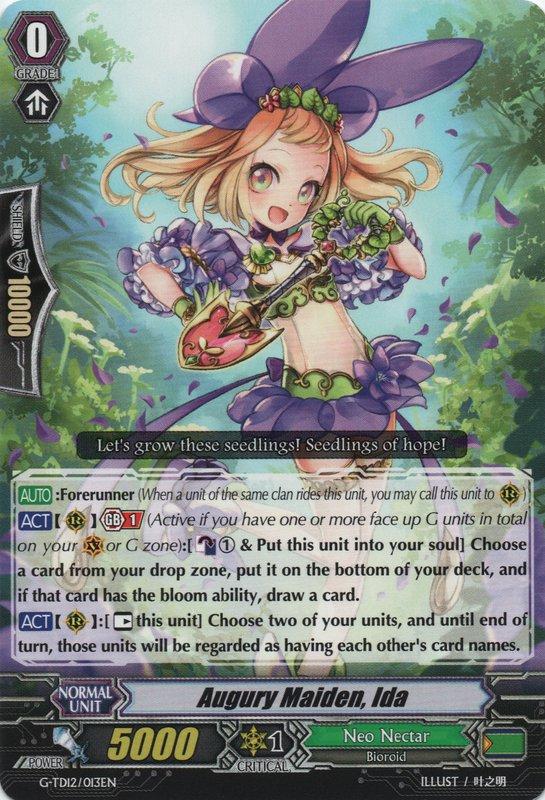 Augury Maiden, Ida