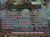 Interdimensional Dragon, Warp Drive Dragon