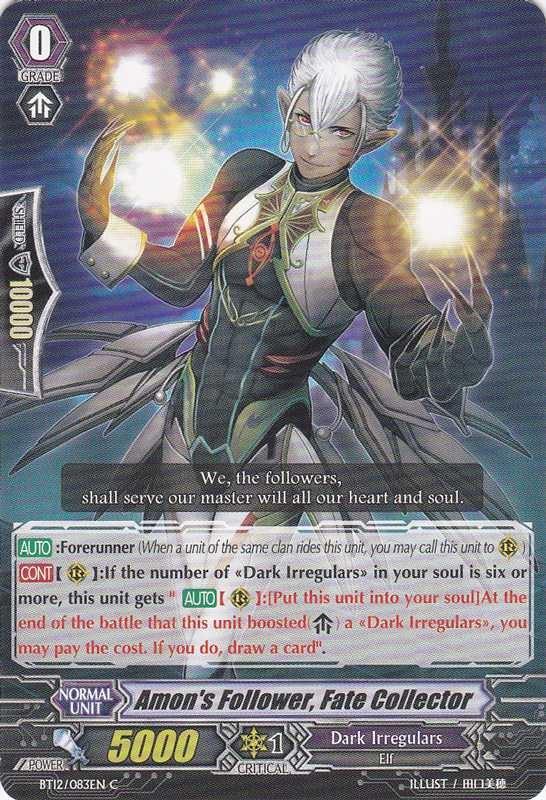 Amon's Follower, Fate Collector