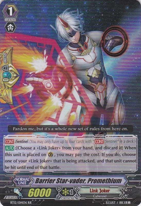Barrier Star-vader, Promethium