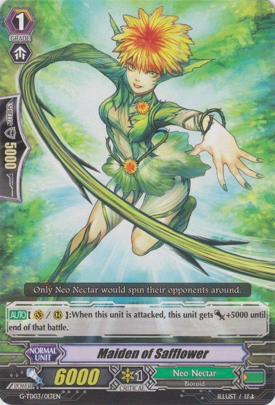 Maiden of Safflower