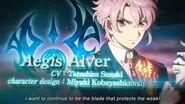 TALES OF CRESTORIA Character Trailer - Aegis Alver