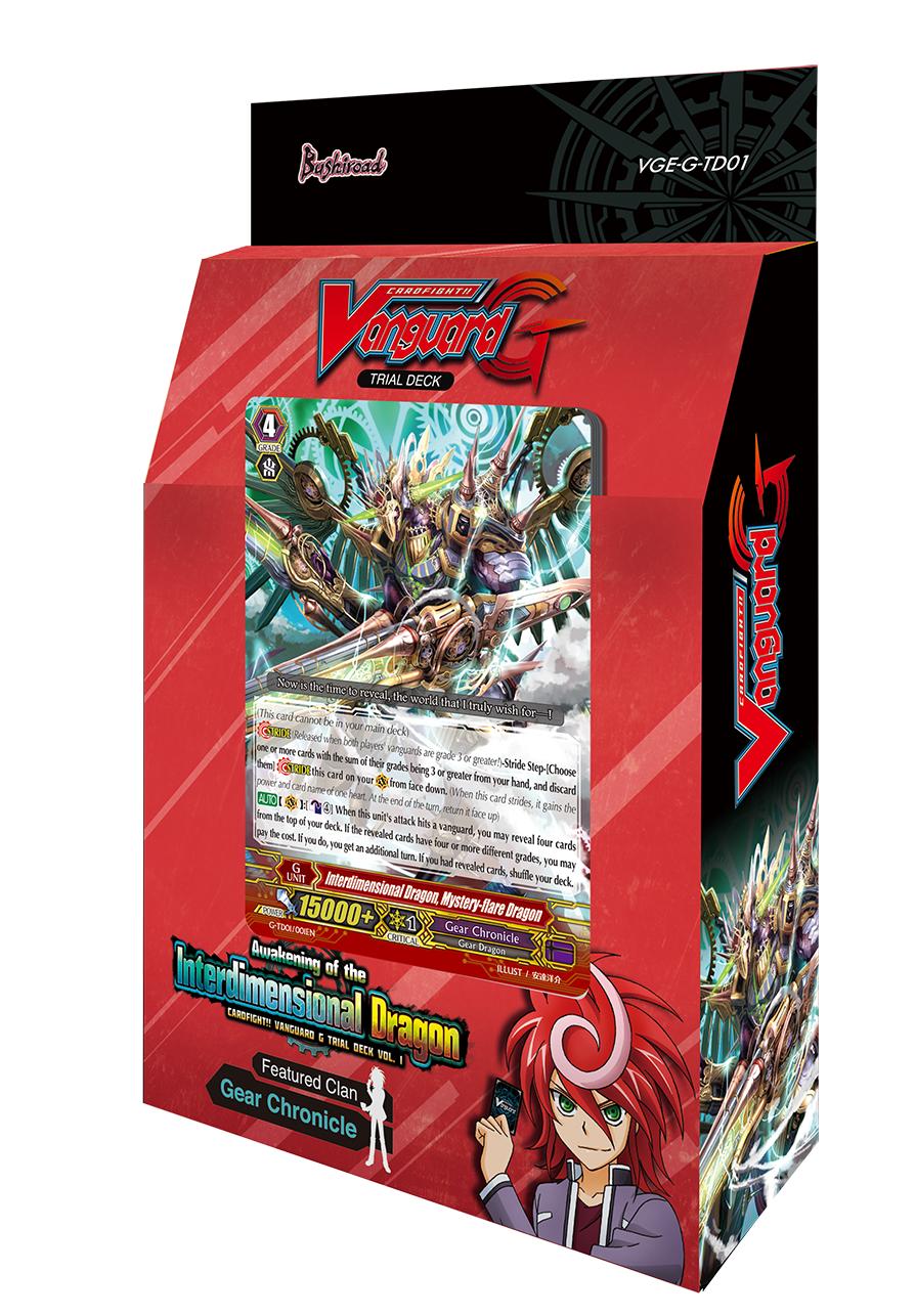G Trial Deck 1: Awakening of the Interdimensional Dragon