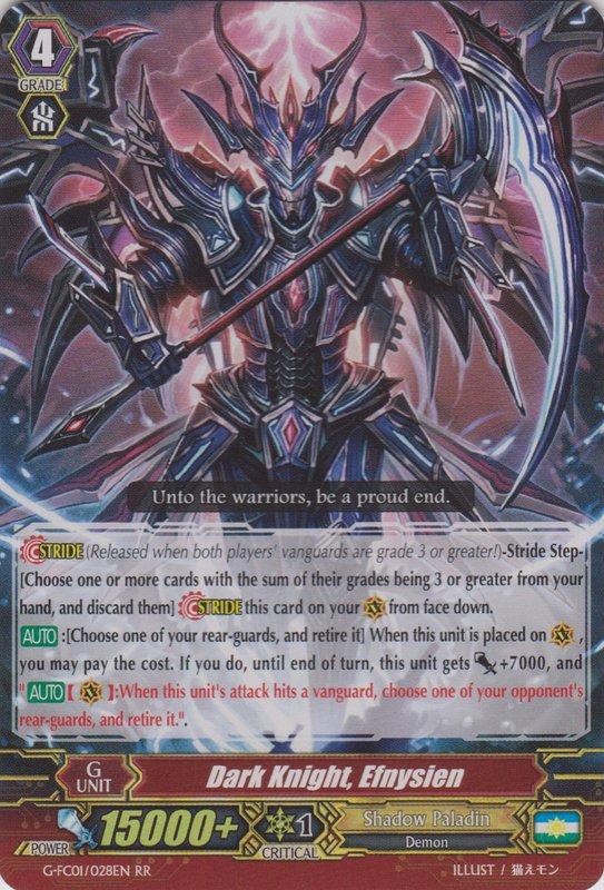 Dark Knight, Efnysien