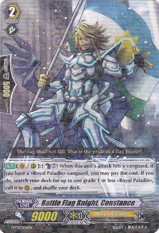 Battle Flag Knight, Constance