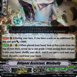 Diligent Assistant, Minibelly (V Series)