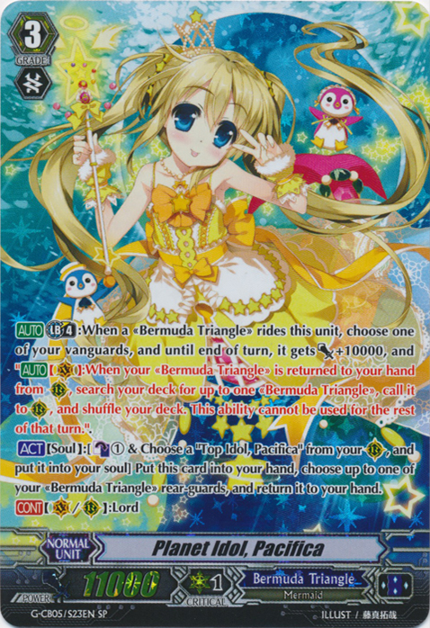 Planet Idol, Pacifica