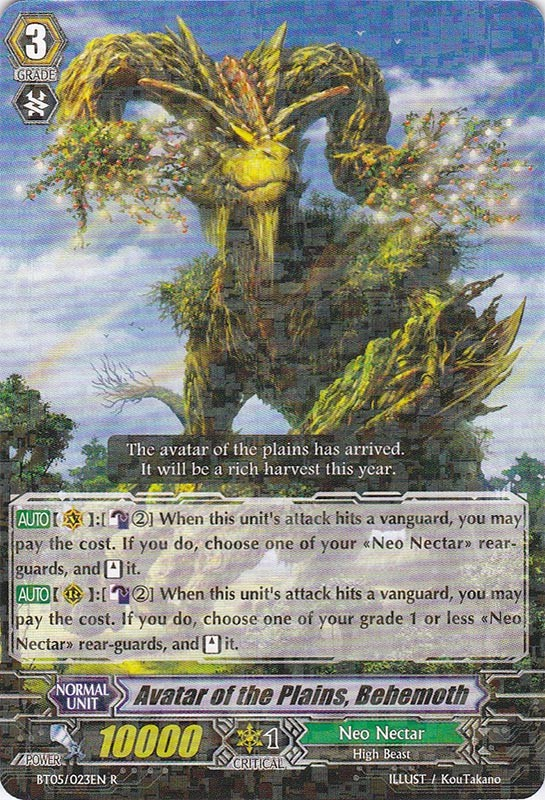 Avatar of the Plains, Behemoth