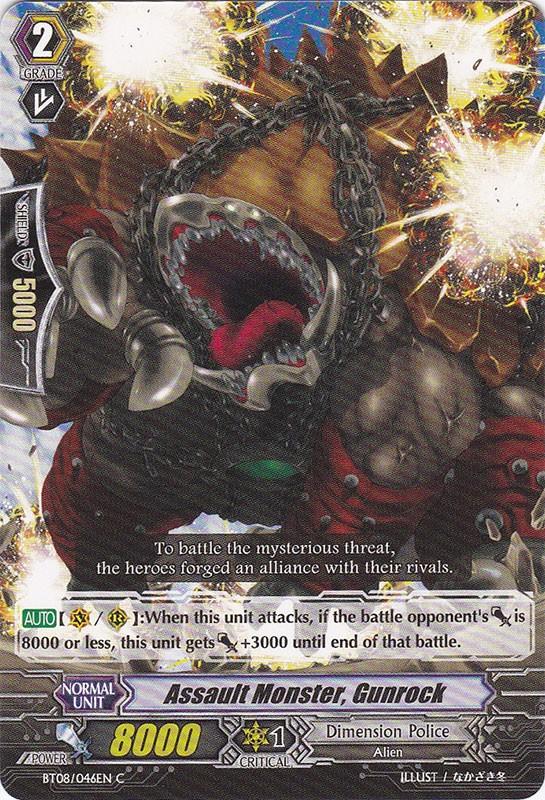Assault Monster, Gunrock