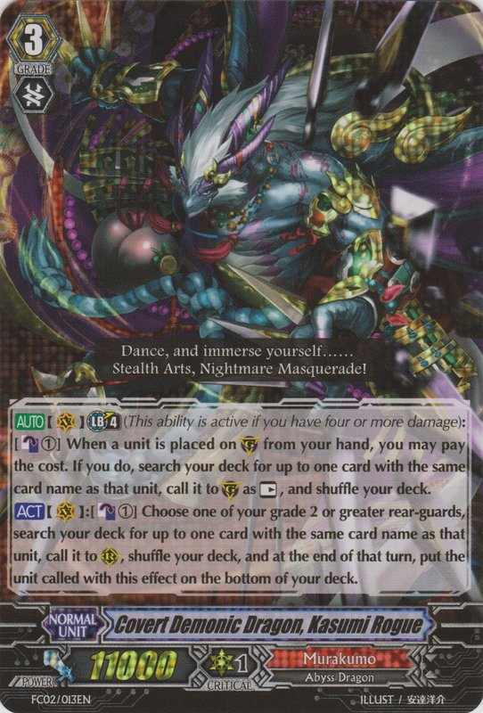 Covert Demonic Dragon, Kasumi Rogue