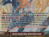 Divine Knight King, Alfred Holy Saver