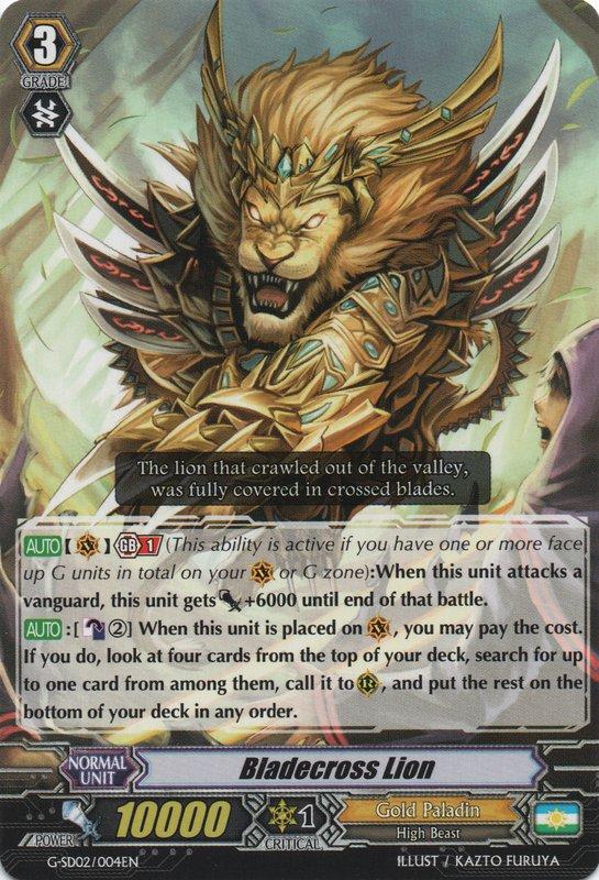 Bladecross Lion