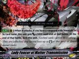 Lady Fencer of Matter Transmission (V Series)