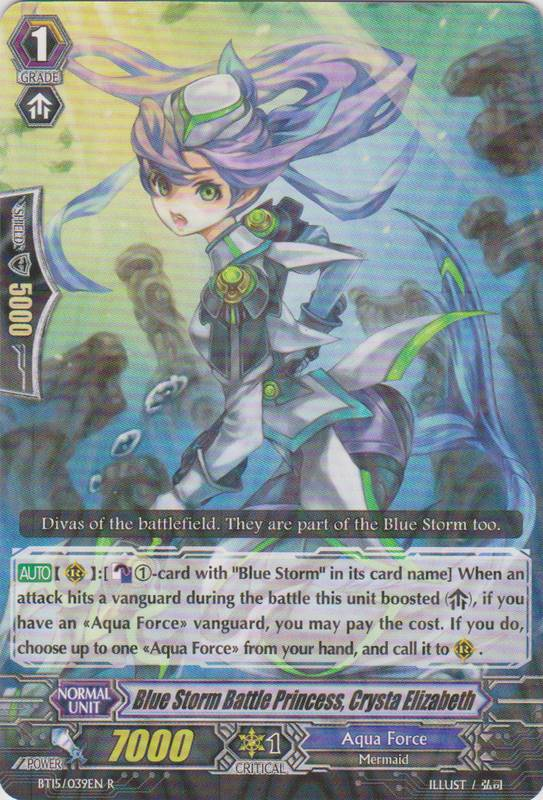 Blue Storm Battle Princess, Crysta Elizabeth