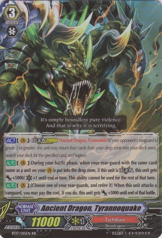 Ancient Dragon, Tyrannoquake