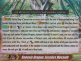 Genesis Dragon, Excelics Messiah