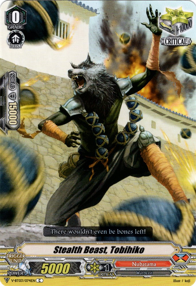 Stealth Beast, Tobihiko (V Series)