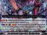 Exceptional Expertise, Rising Nova (V Series)