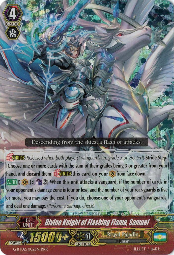 Divine Knight of Flashing Flame, Samuel
