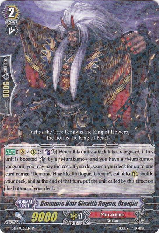 Demonic Hair Stealth Rogue, Grenjin