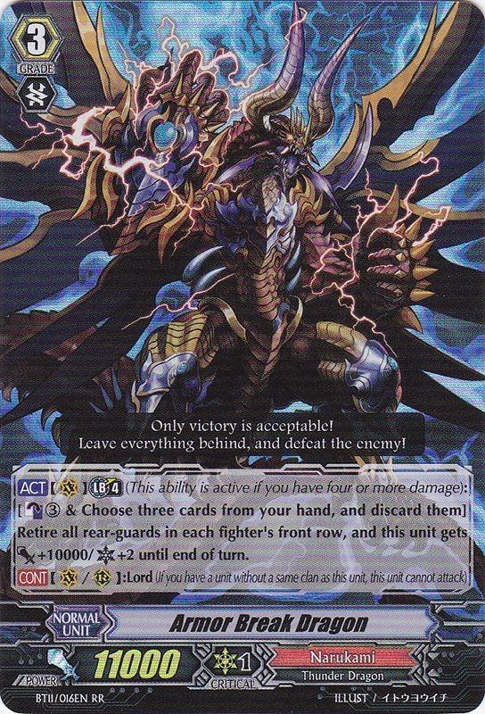 Armor Break Dragon