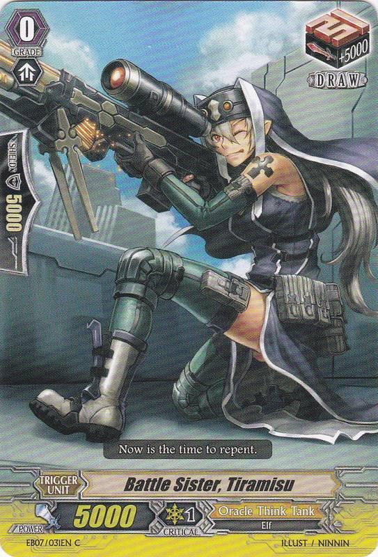 Battle Sister, Tiramisu