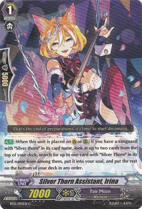 Silver Thorn Assistant, Irina