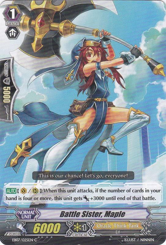 Battle Sister, Maple