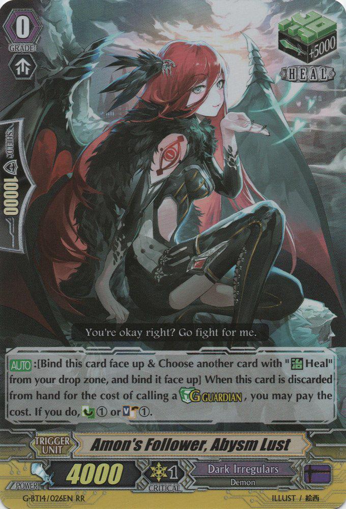 Amon's Follower, Abysm Lust