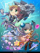 Light Braver, Seldiora and Solar Maiden, Uzume (Extra-10th Anniversary)