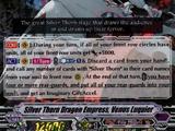 Silver Thorn Dragon Empress, Venus Luquier (V Series)