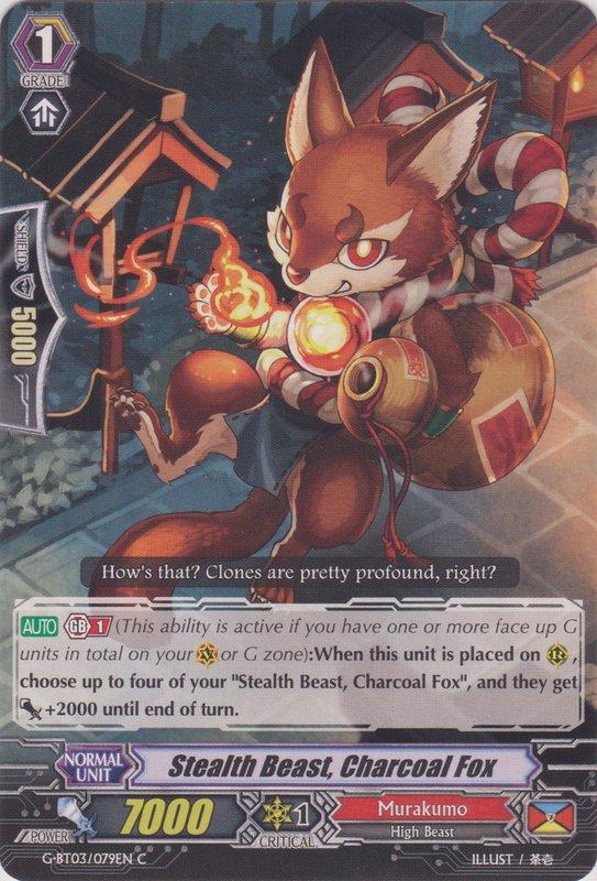 Stealth Beast, Charcoal Fox