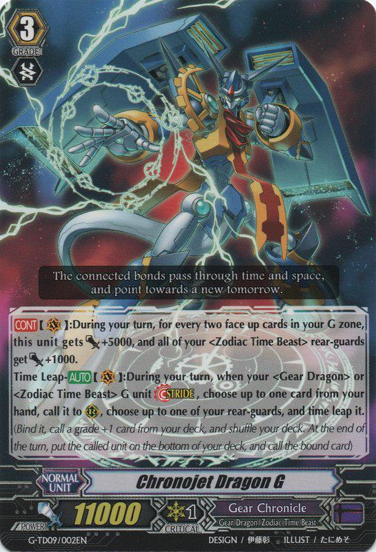 Chronojet Dragon G