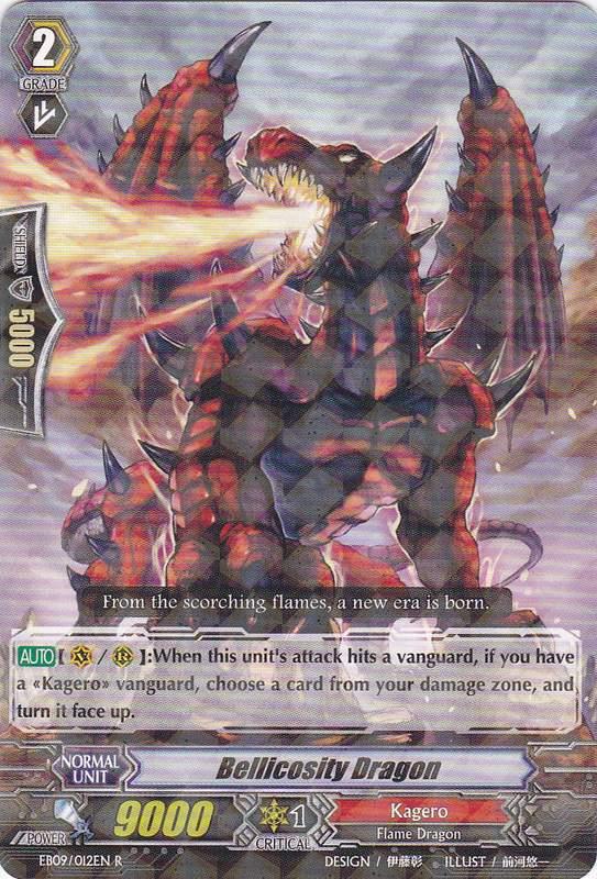 Bellicosity Dragon