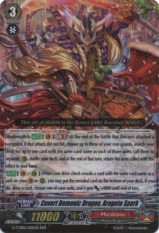 Covert Demonic Dragon, Aragoto Spark