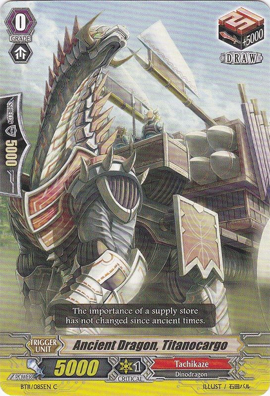Ancient Dragon, Titanocargo