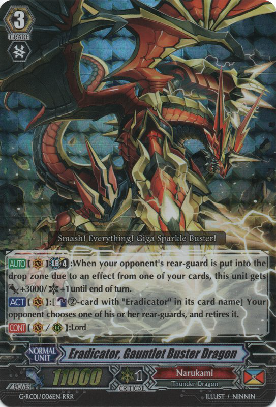 Eradicator, Gauntlet Buster Dragon