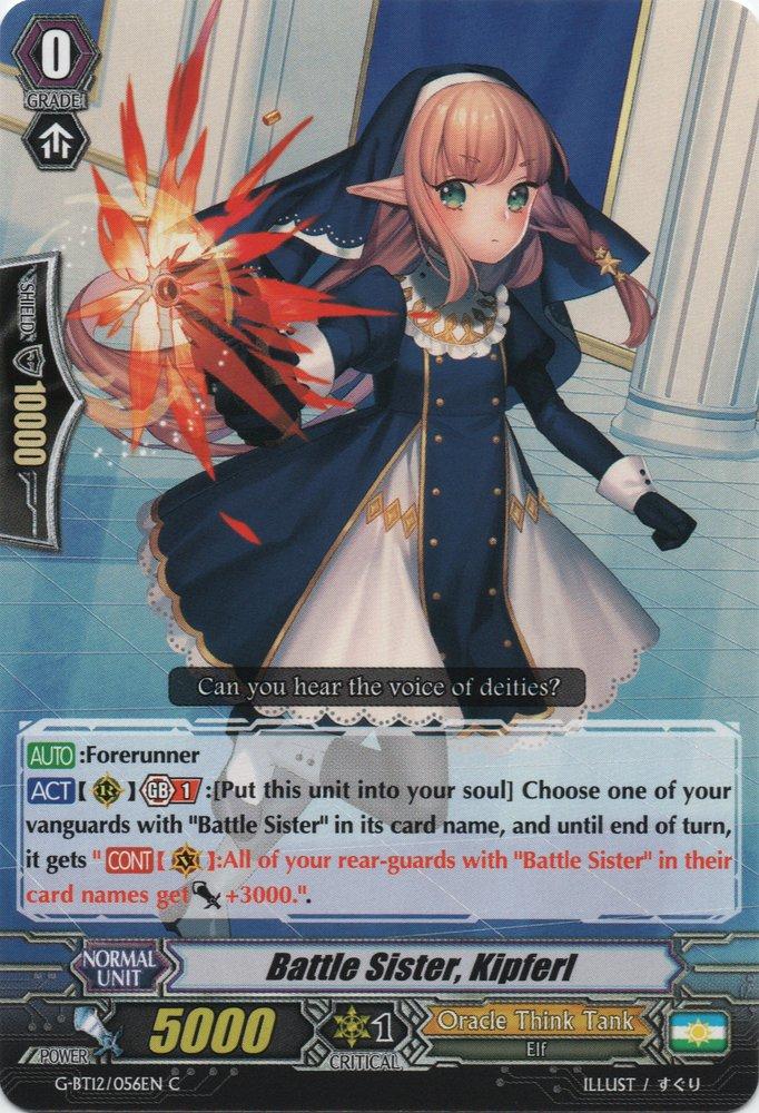 Battle Sister, Kipferl