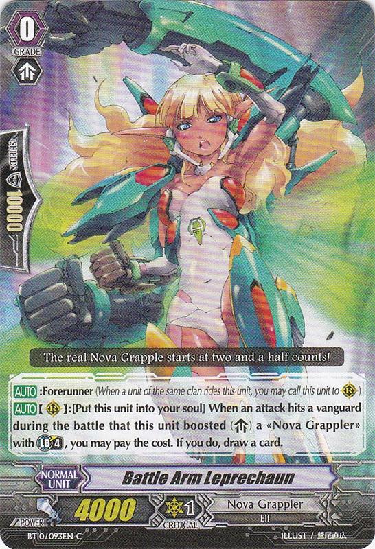 Battle Arm Leprechaun