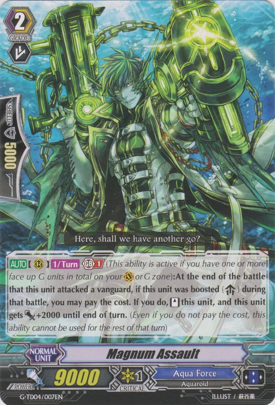 Card Errata:Magnum Assault