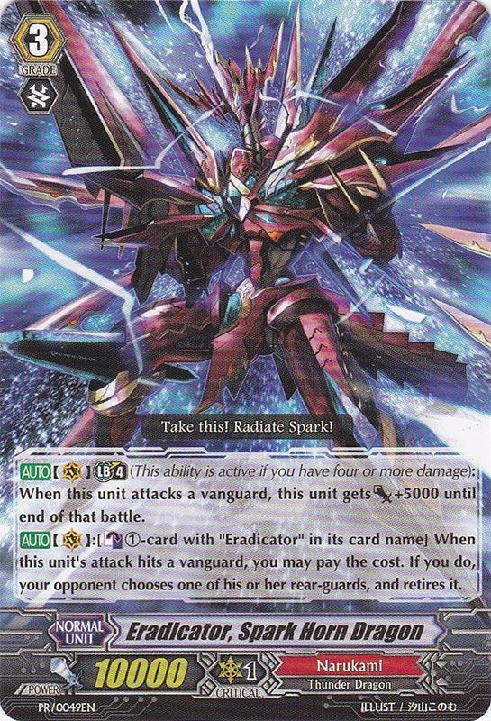 Eradicator, Spark Horn Dragon