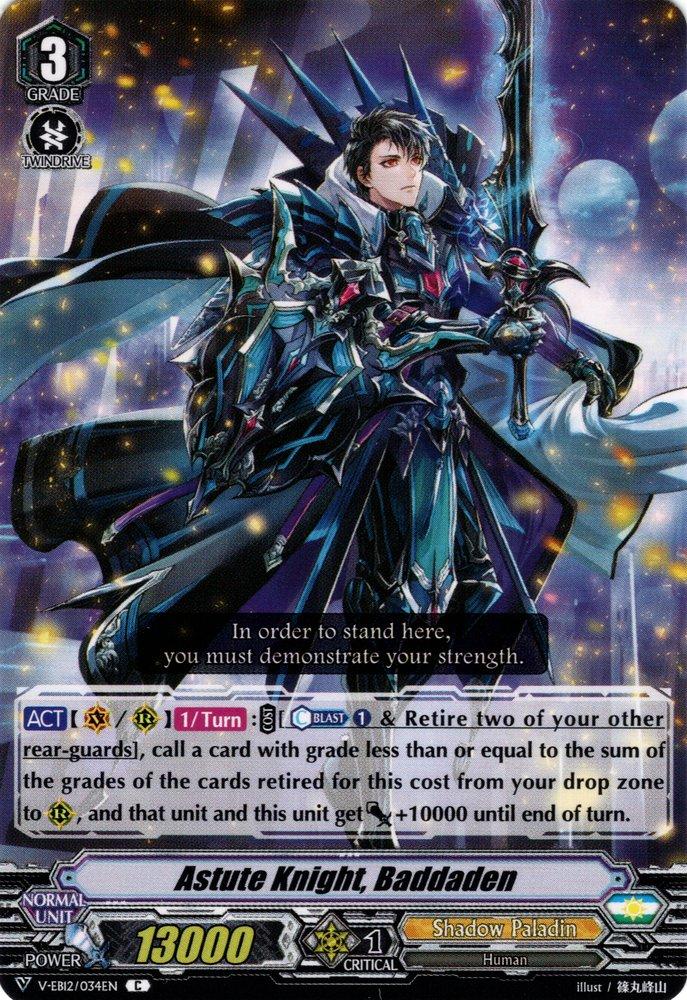 Astute Knight, Baddaden
