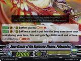 Swordsman of the Explosive Flames, Palamedes (V Series)