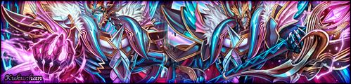 Ragingform Dragon's Banner