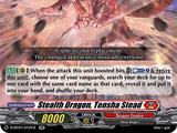 Stealth Dragon, Tensha Stead