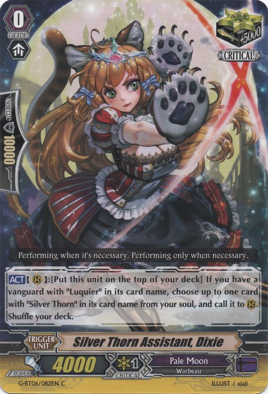 Silver Thorn Assistant, Dixie