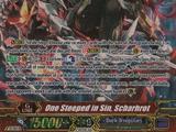 One Steeped in Sin, Scharhrot