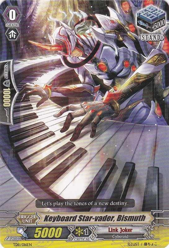 Keyboard Star-vader, Bismuth