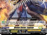 Divine Sister, Lepisto